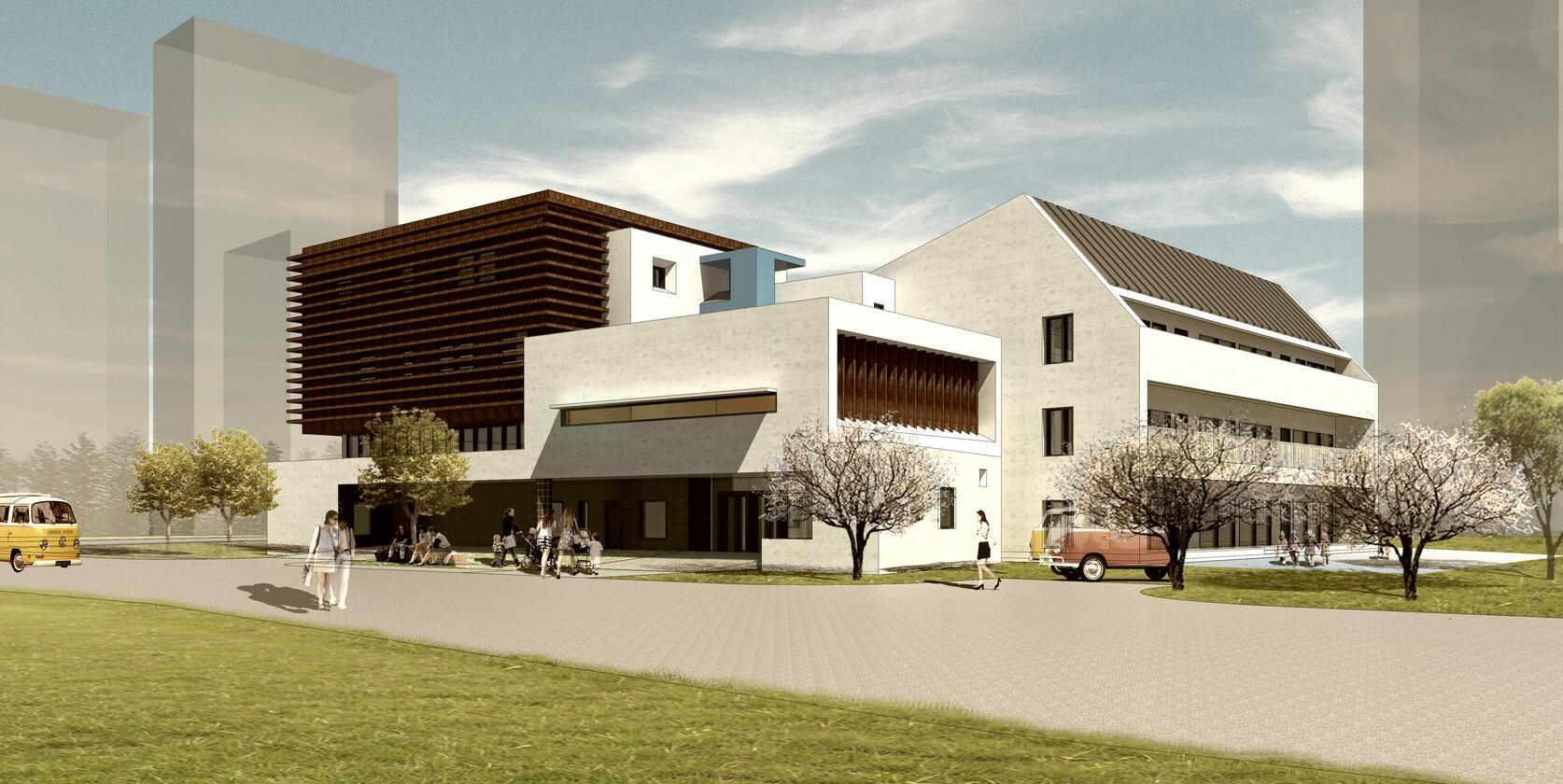 三层l型别墅设计图
